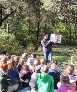 Outdoor Learning at Dupree Nature Preserve