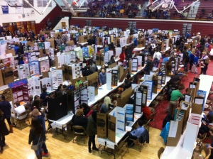 Science Fair at Tates Creek High School