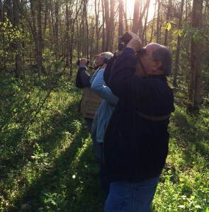 Birders on Spring Audubon Hike © TNC Staff